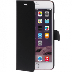 Qtrek iPhone 6 Plus/6s Plus Wallet Case Zwart