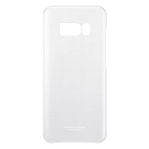 Samsung Clear Cover Zilver Galaxy S8