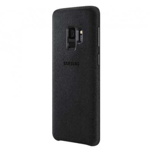 S9 Alcantara Black Side/Front Case
