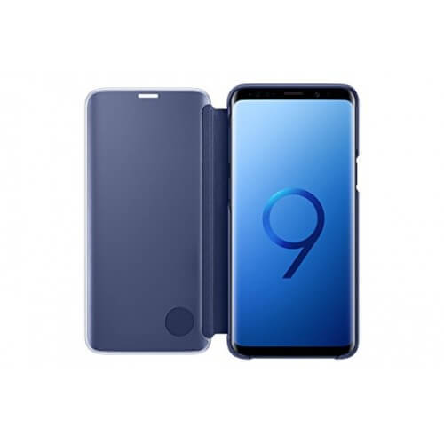 S9 View Blue Front/Back Case