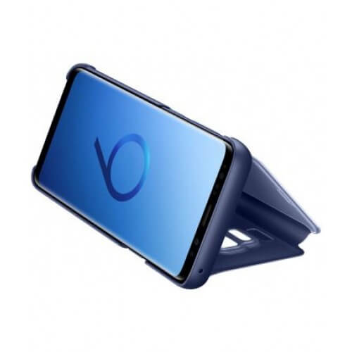 S9 View Blue Side/Front Case