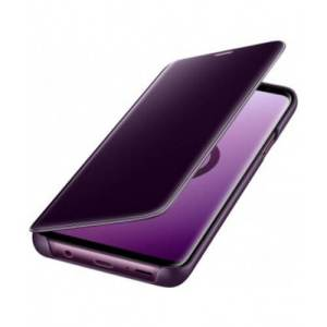 Samsung Clear View Cover Paars Galaxy S9+