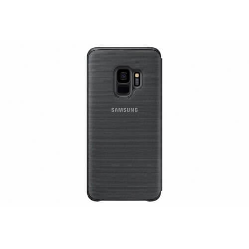 S9 View cover Black Back Case