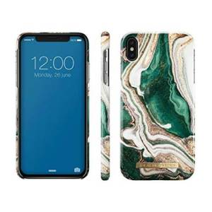 Ideal of Sweden iPhone Xs/X Fashion Back Case Golden Jade Marble