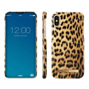 Ideal of Sweden iPhone Xs Max Fashion Back Case Wild Leopard