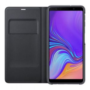 Samsung Galaxy A7 (2018) Wallet Book Case Zwart