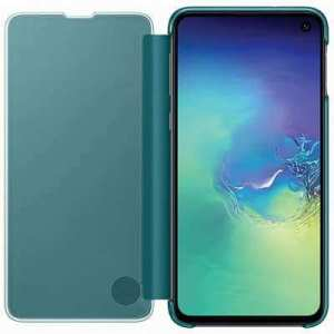 Samsung clear view cover groen voor Samsung Galaxy S10e