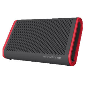 Braven waterproof speaker bluetooth 405 red