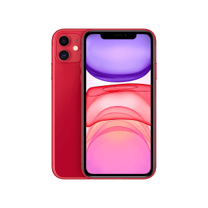 Apple iPhone 11 Rood 64GB Marge