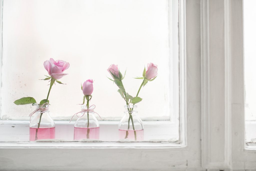 Valentinstags Blumendekoration - You & I DIY