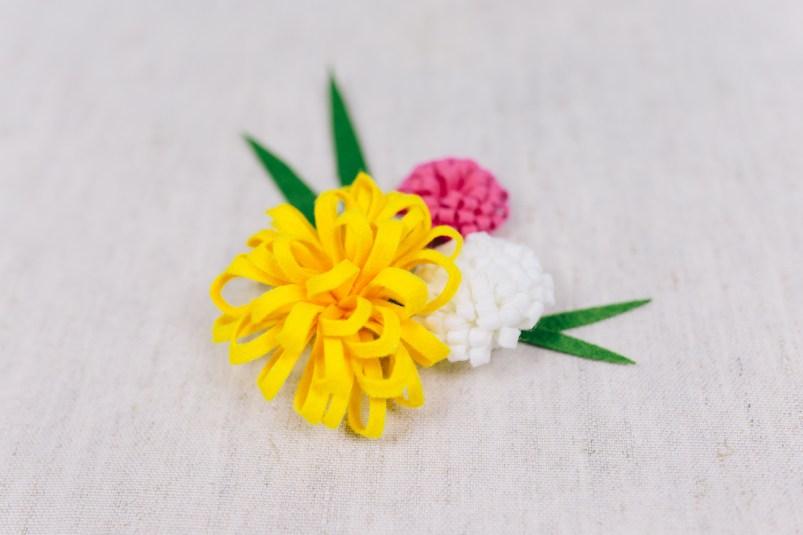 DIY Stoffblumen – Dahlie selber machen