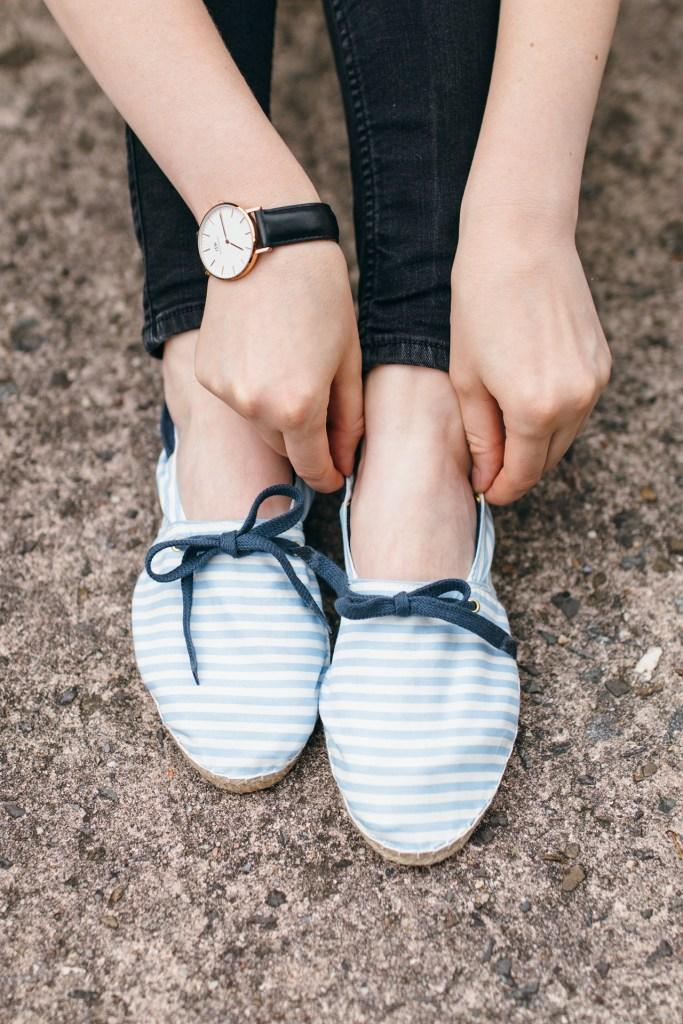 Espadrilles Schuhe selber machen