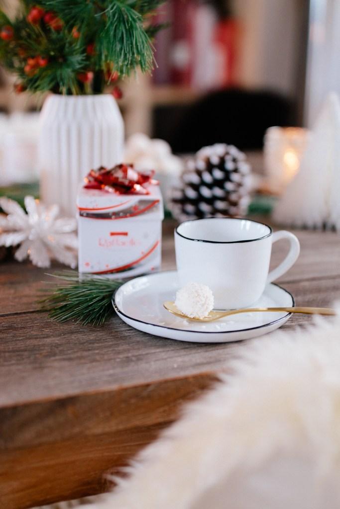 Winterliche Tischdekoration Mit Raffaello Selber Machen Anzeige
