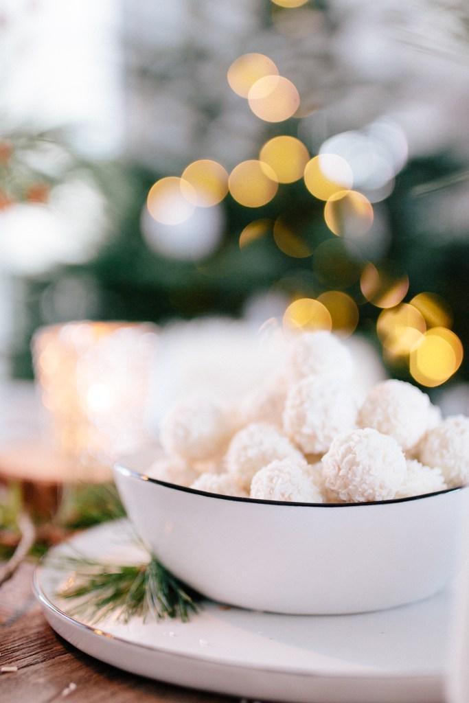 Weihnachtsdeko Ferrero.Winterliche Tischdekoration Mit Raffaello Selber Machen Anzeige