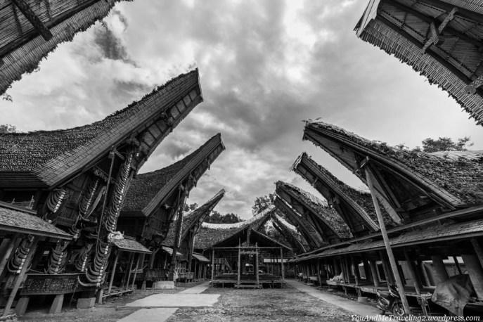 sulawesi toraja indonesia traditional village