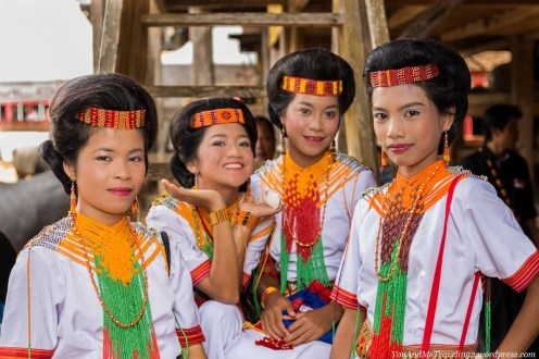 sulawesi toraja indonesia funeral ceremony girls traditional clothes