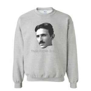 Tesla Knows Energy Sweatshirt
