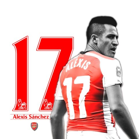Alexis Sanchez Custom Wallpaper