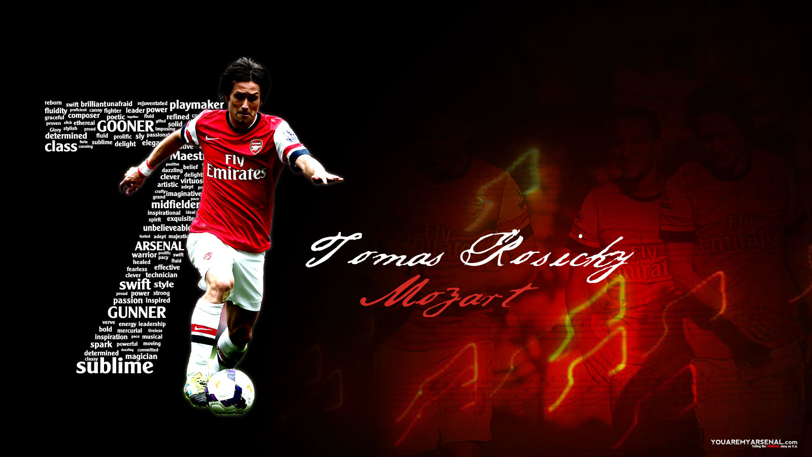 wallpapers you are my arsenal