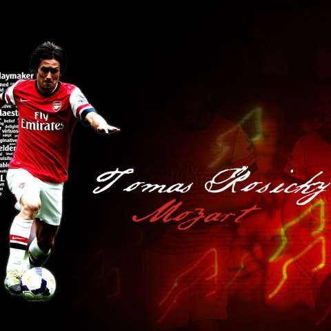 Thomas Rosicky Custom Wallpaper