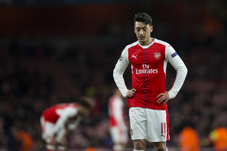 The Curious Case of Mesut Özil's Disappearance