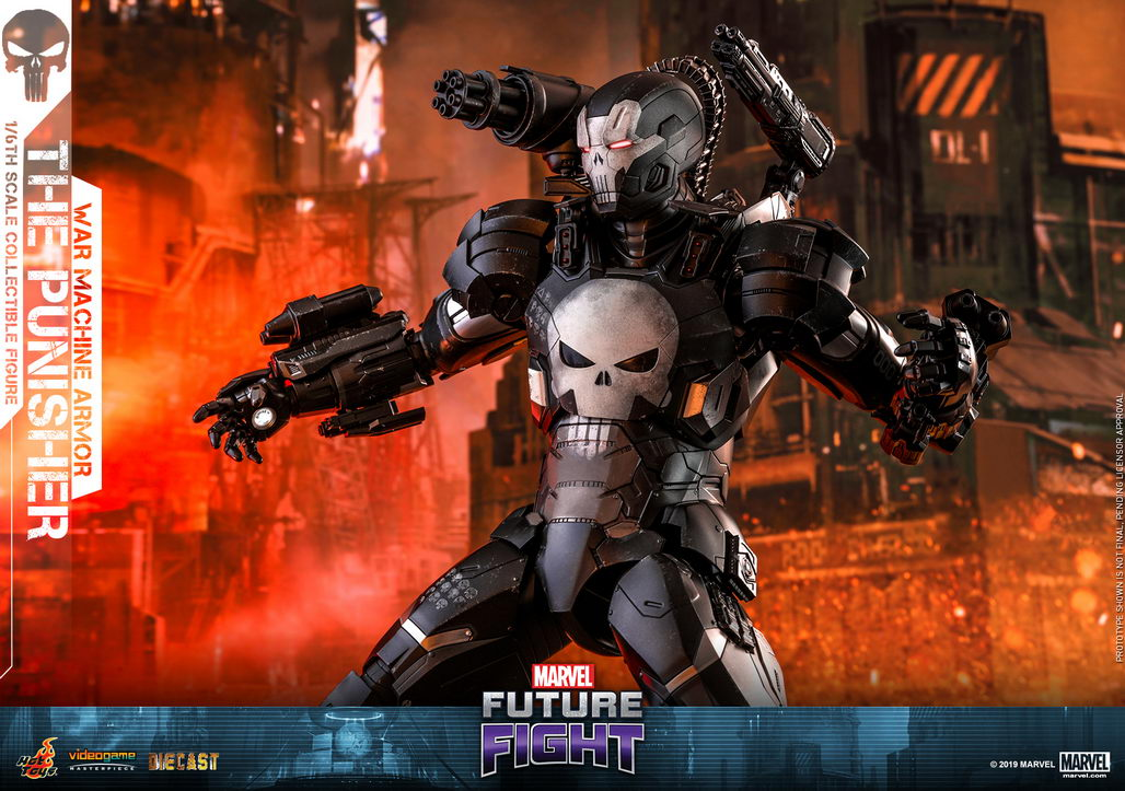 Hot Toys Marvel Future Fight 1 6 Th Scale The Punisher