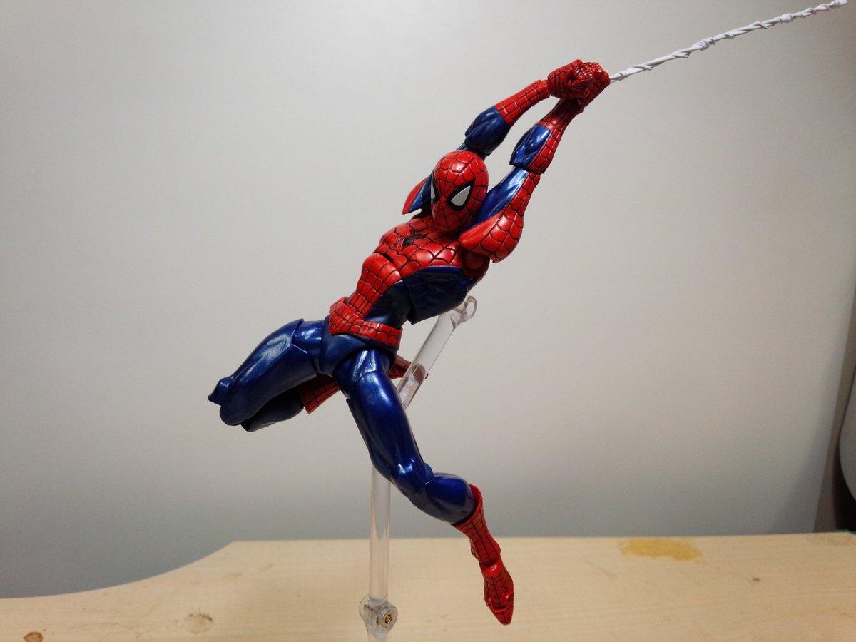 Kaiyodo Amazing Yamaguchi Revoltech Spider Gwen New Pics