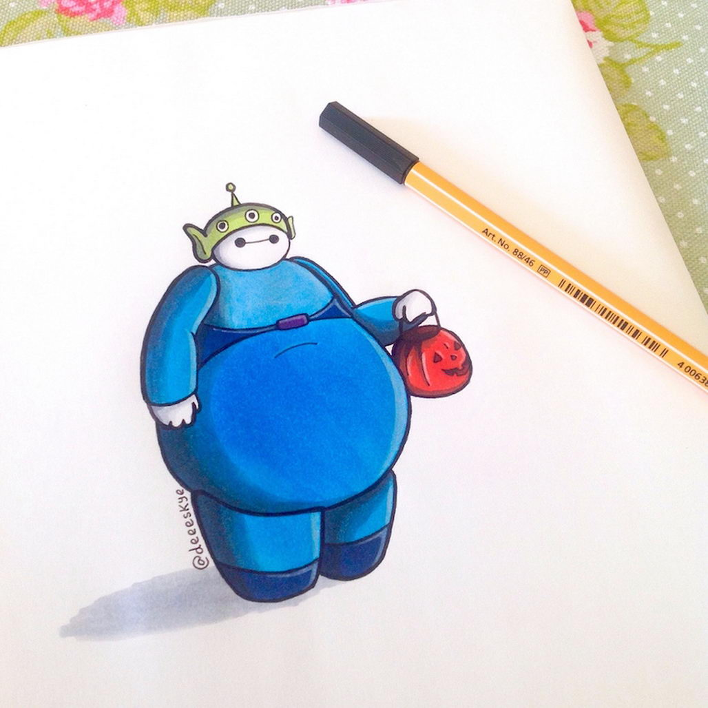 Big Hero Six S Baymax As Other Disney Characters