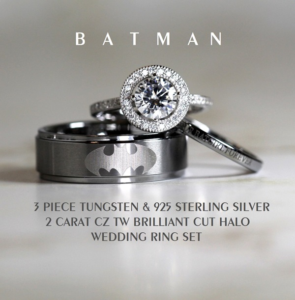 Geeky Yet Affordable Wedding Rings YouBentMyWookie