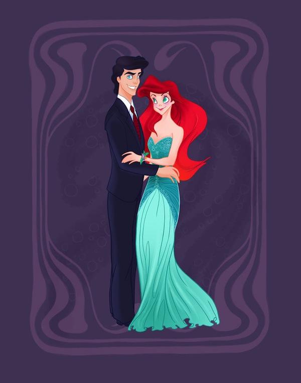 Princess Aurora And Prince Eric