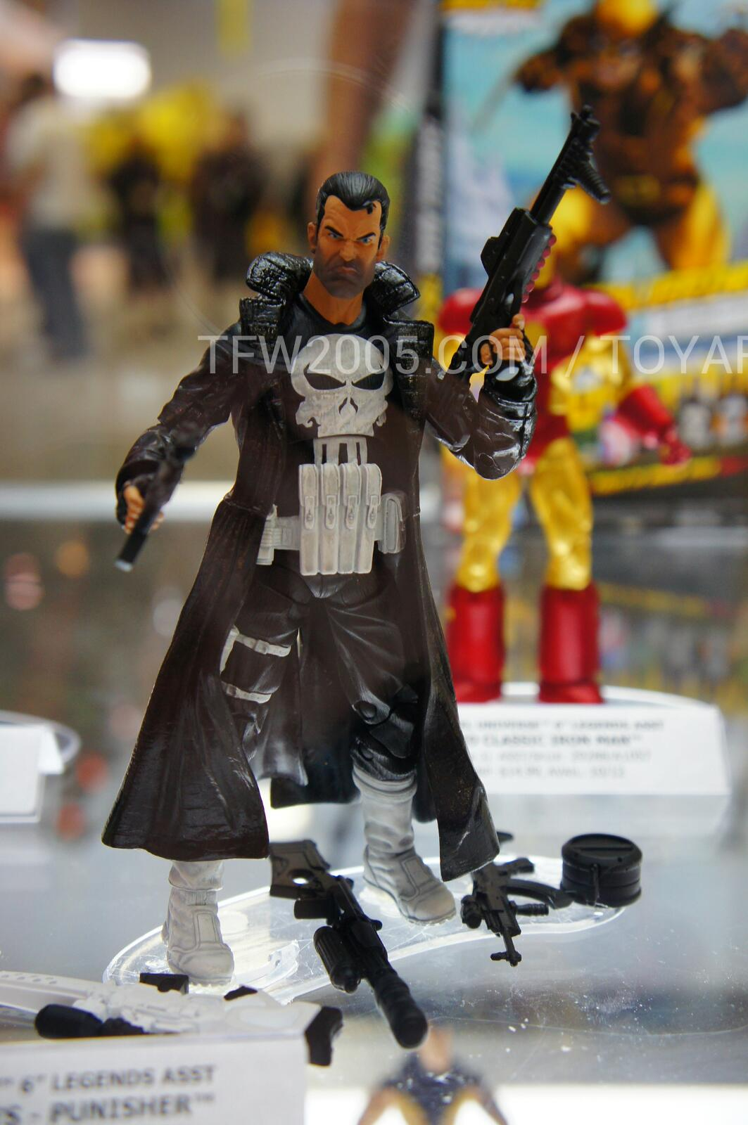 SDCC 2012 Hasbro Preview Night New Marvel Legends