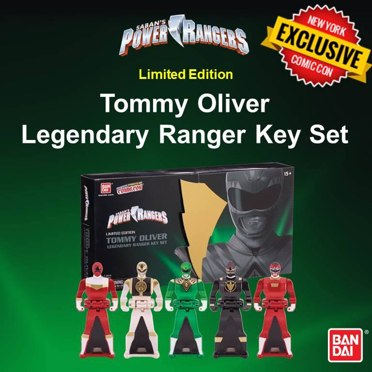 Power Rangers Ranger Keys