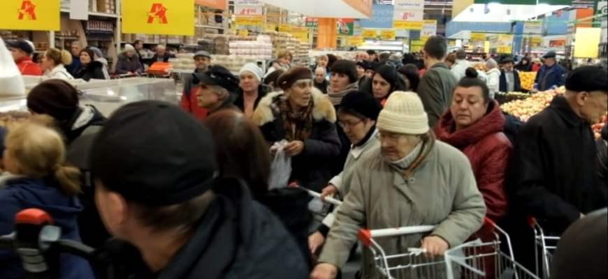 драка за яйца,голод Украины, на Украине массовый голод,драка в торговом центре в Киеве,новости Украины,политика Украины,что происходит на Украине