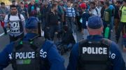 Массовые протесты во Франции (Видео)