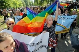 Участники прошедшего в центре Львова «марша вышиванок» скандировали лозунги, славящие дивизию СС «Галичина»
