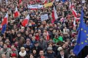 Антиправительственный митинг в Варшаве собрал около 240 тысяч человек (Видео)
