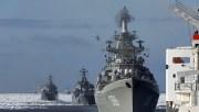 Удар крылатыми ракетами «Калибр» по объектам ИГИЛ в Сирии кораблями ВМФ РФ в Средиземном море
