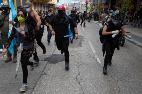 Guatemala Protest
