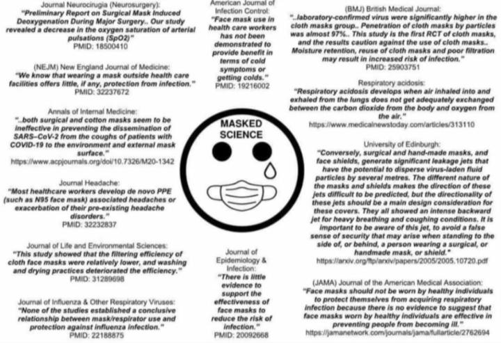 Masked Science: Fact-checking Mask Studies