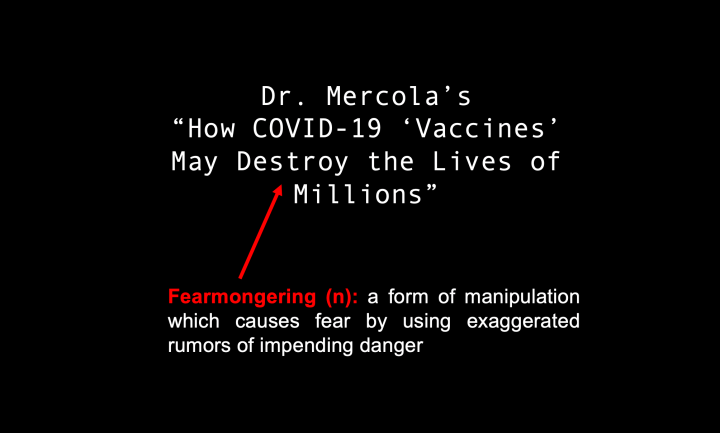 """Fact-Check: Dr. Mercola's """"How COVID-19 'Vaccines' May Destroy the Lives of Millions"""""""