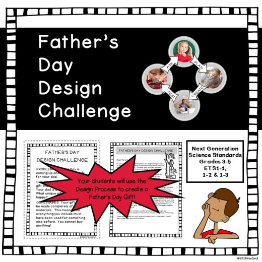 Father's Day Challenge Square Cover JPG