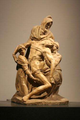 La piéta, au musée dell' Opera del Duomo