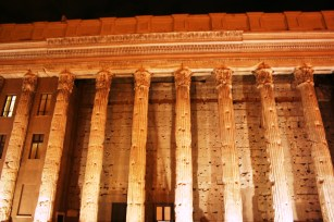 Le temple d'Adriano