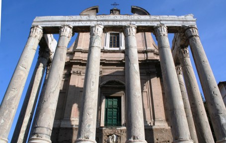 Le temple d'Antoin et Faudtine