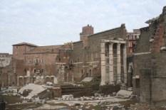 Le forum de Trajan devant lequel on passe tous les matins !