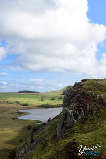 Hadrian's wall view