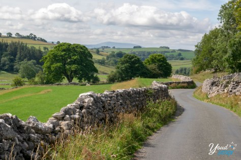 Walking through Malham