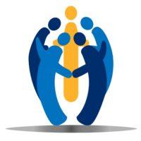 13458713 - teamwork social people logo vector