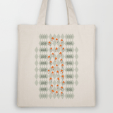 walking down the road illustration by youdesignme totebag