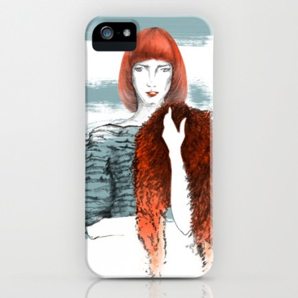 illustration by youdesignme_for me_phone skin
